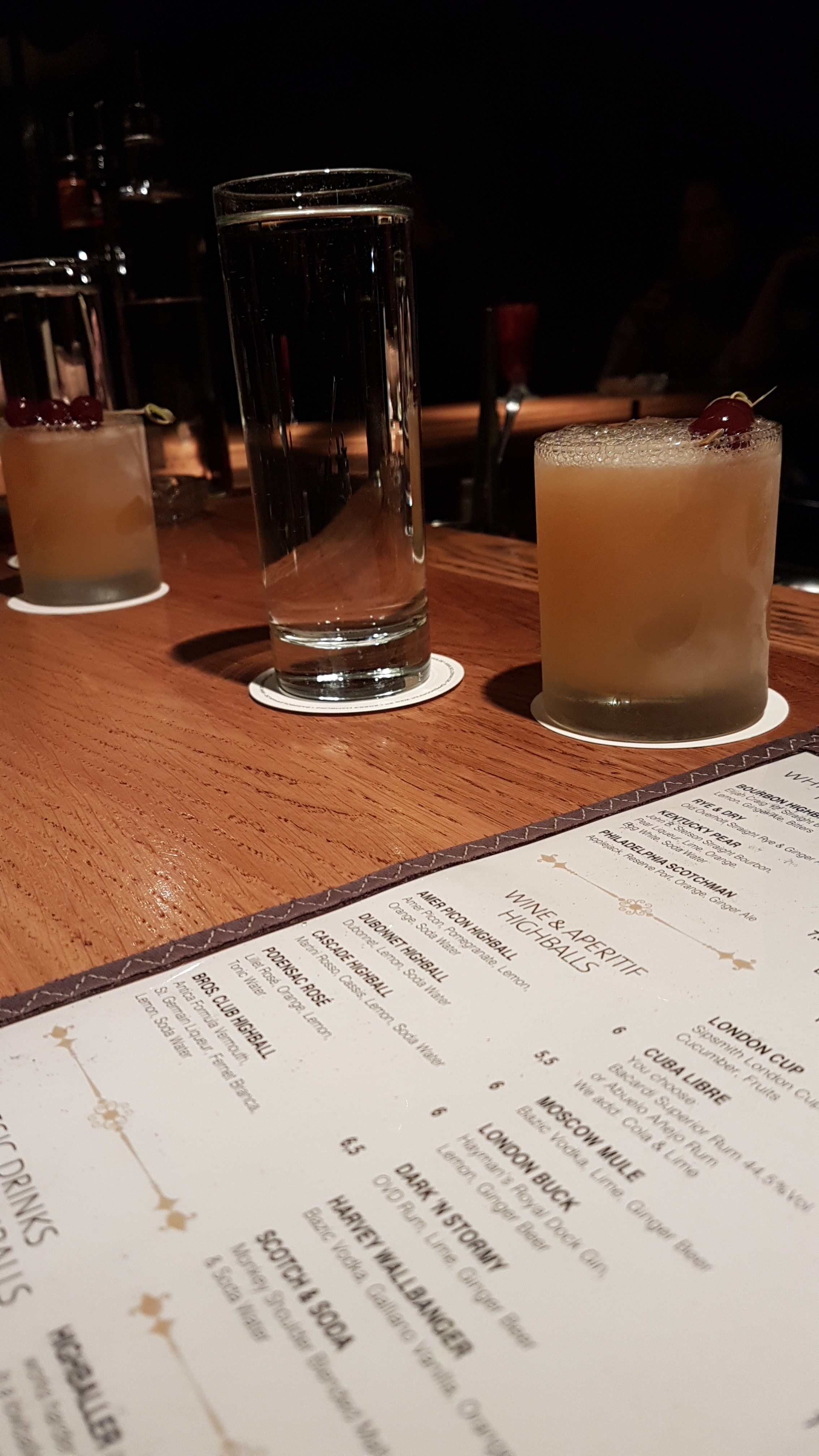 Boilerman Bar Whiskey Sour